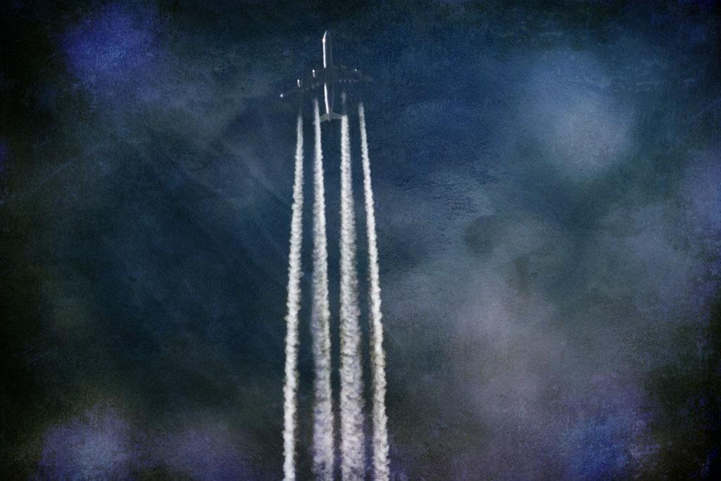 aviones plateados